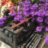 Of purple cloth and typewriters