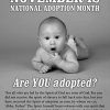 Adoption Month: personal reflections
