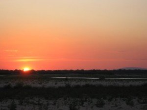 Sunset on the Rufiji river (Selous Game Reserve, Tanzania) Some rights reserved (BY NC ND) by LMP+