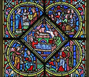 """Nativity, St. Nectaire"" Some rights reserved (CC BY-NC-SA 2.0) by Steve Day. Sourced from Flickr"