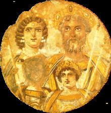 Damnatio memoriae of Geta by Emperor Caracella, 211 A.D.
