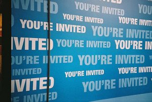 """""""You're Invited"""" Some rights reserved (CC BY-NC-ND 2.0) by Agnes L. Reynes-Williams. Sourced from Flickr"""