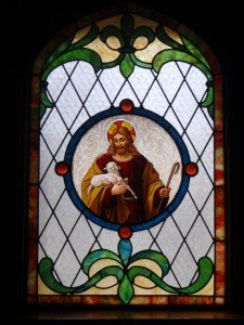 Baptism Window (St. Paul's, Shoal Lake). Some rights reserved (CC BY-Nc-SA 2.0) by LMP+