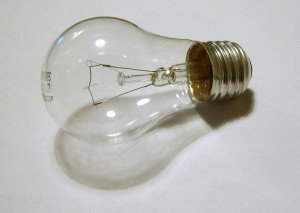 """Lightbulb"" Some rights reserved (CC BY 2.0) by James Bowe. Sourced from Flickr"
