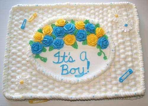 """""""It's a Boy!"""" Some rights reserved (CC BY-NC 2.0)  by Stephanie (LynStarFC) Sourced from Flickr"""