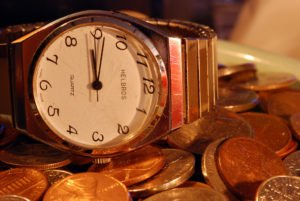 """Time is Money"" Some rights reserved (CC BY-SA 2.0) by Tim Lindenbaum. Sourced from Flickr"