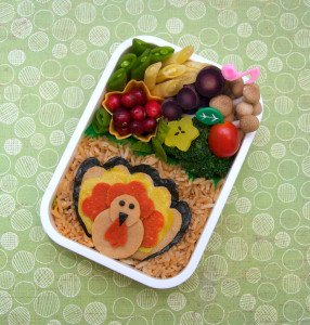 """Turkey Day Bento"" Some rights reserved (CC BY 2.0) by ""Megan"" Sourced from Flickr"
