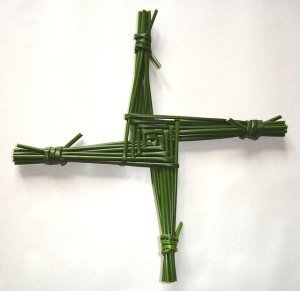 Saint Brigid's cross. Some rights reserved (CC BY 3.0) by Culnacreann; sourced from Wikipedia Commons