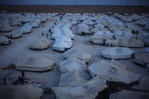Za'atari refugee camp, Jordan