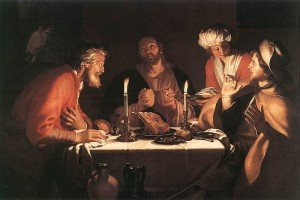 Abraham Bloemaert - The Emmaus Disciples (1622)