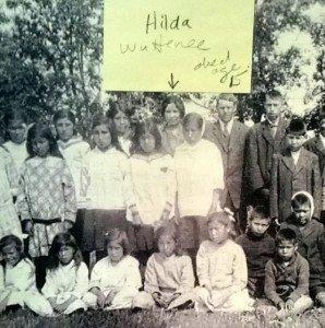 Residential School children