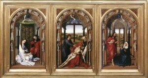 Miraflores Triptych by Rogier van der Weyden c. 1442-5