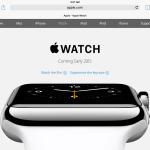 Screenshot taken from Apple's website